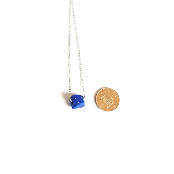 Lapis Lazuli Raw Stone necklace jewelry 1