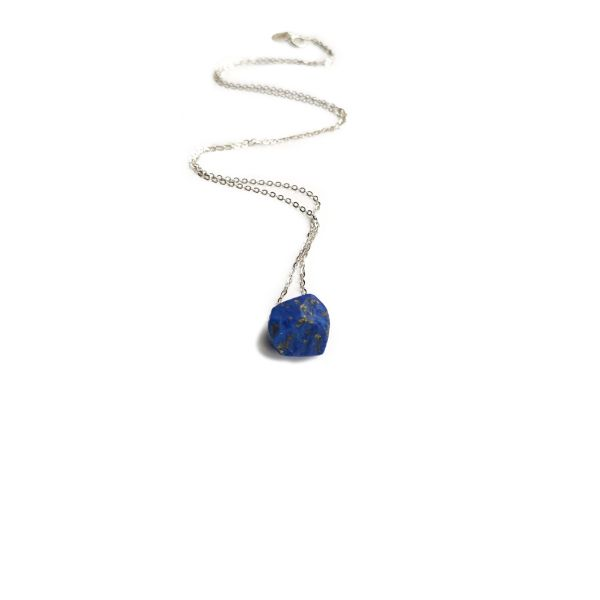 Lapis Lazuli Raw Stone necklace jewelry